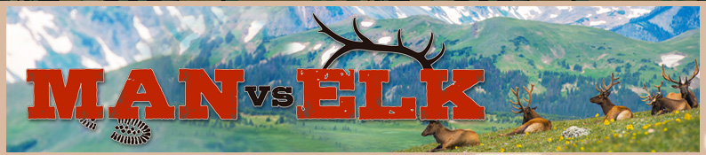 Man vs Elk